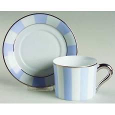 "Набор из 6-ти чайных чашек ""Galerie Royale Blue Wallis"" BERNARDAUD 5224GalerieRoyaleBlueWallis"