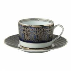 "Чайная чашка с блюдцем ""Eventail Blue"" BERNARDAUD 91EventailBlue"