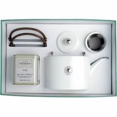 "Набор из чайника и чая ""Shanghai platinum"" BERNARDAUD 8459Shanghaiplatinum"