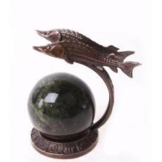 "Скульптура ""Знак зодиака - Рыбы"" Авторские работы RV7587CG"