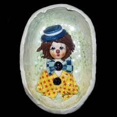 """Медальон """"Клоун в шляпе"""" Zampiva 94235/Z"""