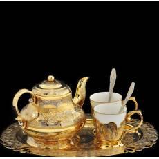 Набор чайный на 2 персоны Златоуст Авторские работы RV0021840CG