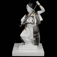 "Статуэтка ""Самурай с мечом"" Ahura 1695/BOPL+BLR001/TPA-WHT"