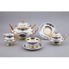 """Сервиз чайный - Афганистан """"National Traditions"""" Rudolf Kampf 07160725-2035"""