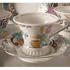 """Чашка чайная с блюдцем """"Byzantine"""" Rudolf Kampf 57120415-1515"""