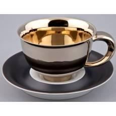 """Чашка кофейная - 6 штук с блюдцем """"Kelt"""" Rudolf Kampf 52160413-251Ak"""