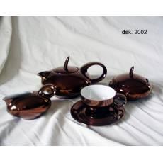 """Фарфоровый чайный сервиз на 6 персон """"Maria-Theresa"""" Rudolf Kampf  42160725-2002k"""
