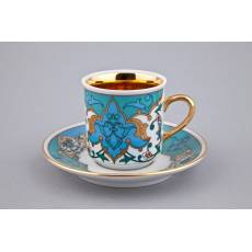 "Кофейный набор из 4-х чашек ""Habibi"" Rudolf Kampf  02150413-2007"