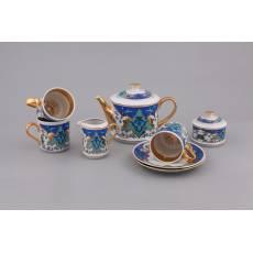 """Фарфоровый чайный сервиз """"Habibi"""" Rudolf Kampf  02160722-2008k"""