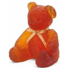 """Статуэтка """"Плюшевый мишка"""" большой оранж. 375 экз. Daum 05365"""