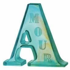 "Скульптура ""А"" для Amour Daum 05178"