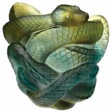 """Ваза для цветов змея с бриллиант. глазами 8 экз. """"Snake"""" Daum 05249"""