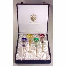 """Набор """"Palais Royale"""" из 4-х фужеров для ликера FABERGE 518094"""