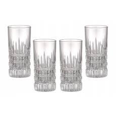 "Набор ""Crown"" из 4-х стаканов для сока FABERGE 411044"