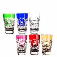 "Набор ""Tsar Hunt"" из 6-ти стаканов для сока FABERGE 552066"