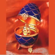 """Яйцо """"Шишка cо слоном"""" Faberge 1537-37"""