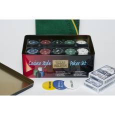 """Набор для покера """"Holdem Light"""" на 200 фишек с номиналом HL200+"""