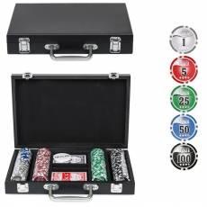 """Набор для покера """"Wood"""" на 200 фишек w200"""