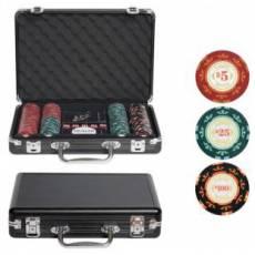 """Набор для покера """"Casino Royale"""" на 200 фишек cr200"""