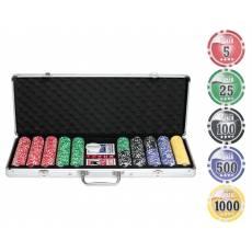 """Набор для покера """"NUTS"""" на 500 фишек + сукно в подарок n500"""