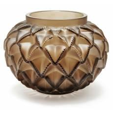 """Ваза для цветов бронзовая средняя """"Languedoc"""" Lalique 10488500"""