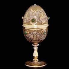 """Подарочное яйцо """"Рюмка"""" Златоуст Авторские работы RV0020039CG"""