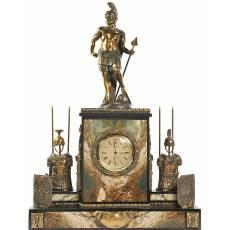 "Часы каминные ""Рыцарь"" Златоуст Авторские работы RV0012095CG"