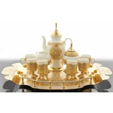 Набор кофейный на 6 персон Златоуст Авторские работы RV25343CG