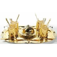 """Чайный набор """"Золотая лилия"""" Авторские работы RV0010559CG"""