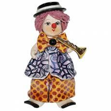 """Статуэтка """"Маленький клоун с трубой"""" Zampiva 20083/Z"""