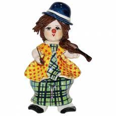 """Статуэтка """"Маленький клоун со скрипкой"""" Zampiva 20082/Z"""