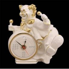 """Часы """"Клоун с барабаном"""" Ahura S1022A/AOV"""