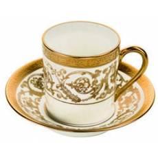 Чашка кофейная с блюдцем Orangerie Gold Christofle 7660510