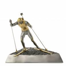 """Скульптура """"Биатлонист в движении"""" Авторские работы RV0034734CG"""