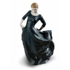 """Статуэтка """"Танцовщица в черном"""" Lladro 01009182"""