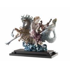 """Статуэтка """"Арион на морском коне"""" Lladro 01001948"""