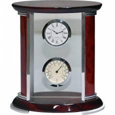 Часы настольные с термометром Linea del Tempo A9180R