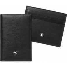 Подарочный набор мужское портмоне + визитница Montblanc 116852