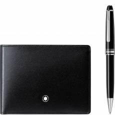 Набор из шариковой ручки Meisterstück Classique с платиновым напылением и бумажника 6сс Meisterstück 117084