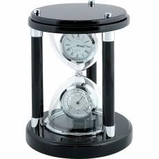 Часы настольные с термометром Linea del Tempo A9143R
