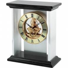 Часы настольные с механизмом скелетон Linea del Tempo S2508R