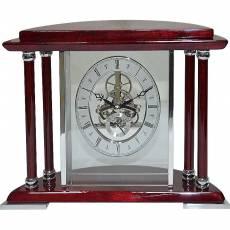Часы настольные с механизмом скелетон Linea del Tempo S2517R