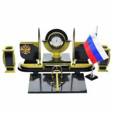 Настольный набор для руководителя с символикой России RV0037063CG