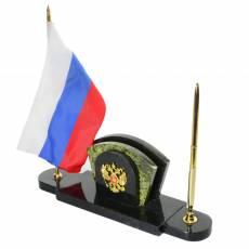 """Письменный набор """"Герб"""" змеевик RV0028185CG"""