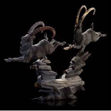 """Скульптура из рога козла """"Козероги"""" RV0011818CG"""