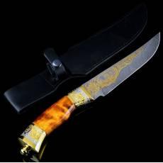 Нож Златоуст дамаск RV0040009CG