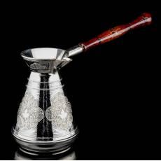 Турка с гравировкой серебро 875* RV0040411CG