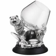 """Коньячный бокал с подогревом """"Медведь"""" Chinelli 2059800"""
