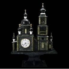 """Часы из камня """"Православный Храм"""" RV0044350CG"""