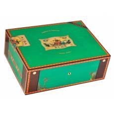 Хьюмидор Альба на 75 сигар Green Pistachio Sycamore Elie Bleu Green Pistachio Sycamore